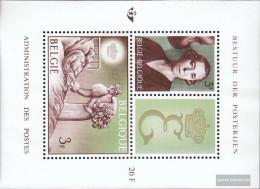 Belgium Block35 (complete Issue) Unmounted Mint / Never Hinged 1966 Queen Elizabeth - Blocks & Sheetlets 1962-....