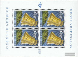 Belgium Block28 (complete Issue) Unmounted Mint / Never Hinged 1963 Friedensglocke - Blocks & Sheetlets 1962-....