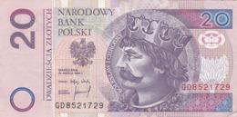Pologne - Billet De 20 Zlotych - Boleslaw I Chrobry - 25 Mars 1994 - Poland