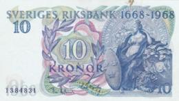 Suède - Billet De 10 Kronor - 1968 - P56a - Presque Neuf - Svezia