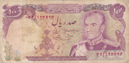 Iran - Billet De 100 Rials - Shah Pahlavi - Non Daté - P102a - Iran
