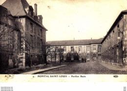 75010 : Paris : Hopital Saint Louis : Pavillon Bazin . - Distretto: 10