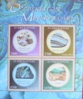 Uzbekistan  2019  Minerals  S/S  MNH - Uzbekistan