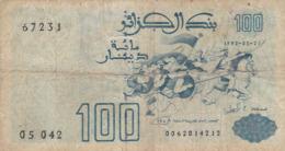 Algérie - Billet De 100 Dinars - 21 Mai 1992 - P137 - Algeria