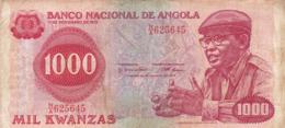Angola - Billet De 1000 Kwanzas - Dr. Agostinho Neto - 11 Novembre 1975 - Angola