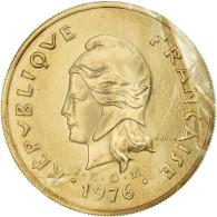 Monnaie, Nouvelle-Calédonie, 100 Francs, 1976, Paris, ESSAI, FDC - Nieuw-Caledonië