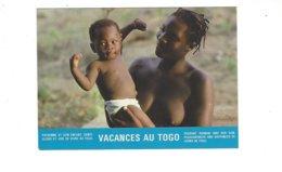 NUE NUDE VACANCES AU TOGO  PAYSANNE ET SON ENFANT ****   RARE    A SAISIR **** - Togo