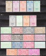TR236/59*  Armoiries - Série Complète - MH* - LOOK!!!! - 1923-1941