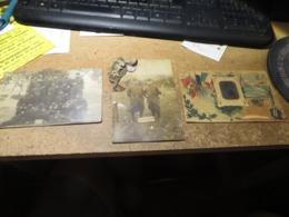 3 Cartes Militaria Vraiment à Voir ,vendu Telle Que C'est ,je Scanne Recto Et Verso - Militaria