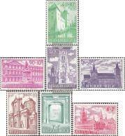 Belgium 1265-1271 (complete Issue) Unmounted Mint / Never Hinged 1962 Monuments - Belgium