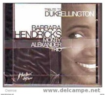 BARBARA  HENDRICKS   °° MONTY ALEXANDER TRIO   Cd - Kerstmuziek