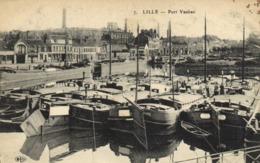 LILLE  Port Vauban Péniches   RV - Lille