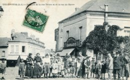 Lillebonne  Jonction De La Rue Thiers Et De La Rue Du  Havre - Lillebonne