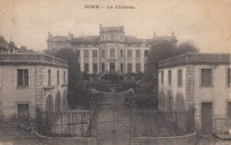 Cp , 42 , BOËN-sur-LIGNON , Le Château - Otros Municipios
