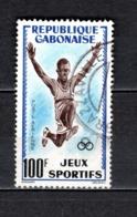 GABON  PA N° 6  OBLITERE  COTE 1.75€    JEUX SPORTIFS - Gabun (1960-...)