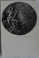 Foto Cromo Olimpiada De Berlín. Nº 199. Medalla. 1936. Alemania. Pre II Guerra Mundial. Gruppe 61. ORIGINAL - Tarjetas