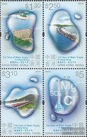 Hong Kong 981-984 Block Of Four (complete Issue) Unmounted Mint / Never Hinged 2001 Public Water - Unclassified