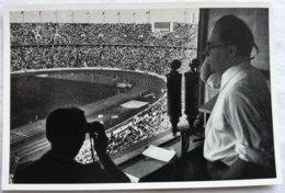 Foto Cromo Olimpiada De Berlín. Nº 196. Estadio, Prensa. 1936. Alemania. Pre II Guerra Mundial. Gruppe 61. ORIGINAL - Tarjetas