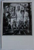 Foto Cromo Olimpiada De Berlín. Nº 188. Atletismo, Rudolf Eisenmenger, Austria. 1936. Alemania. Pre II Guerra Mundial. - Tarjetas