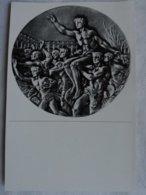 Foto Cromo Olimpiada De Berlín. Nº 200. Medalla. 1936. Alemania. Pre II Guerra Mundial. Gruppe 60. ORIGINAL - Tarjetas