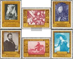 Belgium 1119-1124 (complete Issue) Unmounted Mint / Never Hinged 1958 Paintings - Belgium