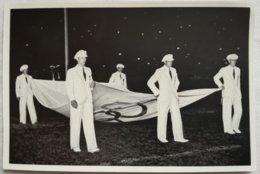 Foto Cromo Olimpiada De Berlín. Nº 192. Bandera Olímpica. 1936. Alemania. Pre II Guerra Mundial. Gruppe 57. ORIGINAL - Tarjetas