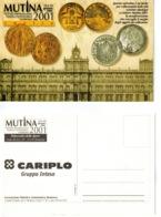 Cartolina Illustrata Convegno Numismatico MUTINA 2001 - Nuova - Coins (pictures)