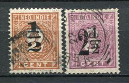 Niederländisch - Indien Nr.38/9         O  Used               (279) - Nederlands-Indië