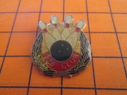 1219 Pin's Pins : BEAU ET RARE : Thème SPORTS / BOWLING 225 CLUB - Bowling