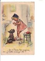 Germaine BOURET : Cartes Anciennes  : Sans éditeur , Numérotées  : Lot De 7 Cartes Toutes Scannées Recto Verso - Bouret, Germaine