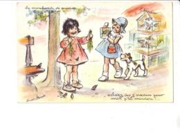Germaine BOURET : Cartes Anciennes  :  édition P.B. Paris : Lot De 10 Cartes Toutes Scannées Recto Verso - Bouret, Germaine
