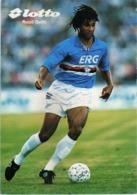 Soccer / Football - Ruud Gullit - Lotto - Advertising Card - Soccer