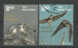 HR 2019-1378-9 EUROPA CEPT, HRVATSKA CROATIA, 1 X 2v, Used - 2019