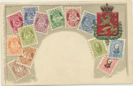 78-126 Norway Stamps On Postcard - Noorwegen