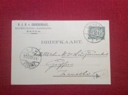 Breda Groenendael Bouwkundige Aannemer Breda Briefkaart - 1891-1948 (Wilhelmine)