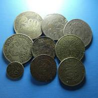 Brazil 9 Coins Bad Grade - Coins & Banknotes