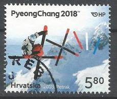 HR 2018-1302 OLY PYEONGCHANG , HRVATSKA CROATIA, 1 X 1v, Used - Winter 2018: Pyeongchang