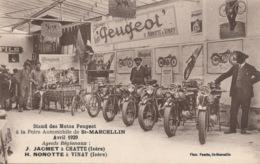 I148 - 38 - SAINT-MARCELLIN - Isère - Stand De Moto Peugeot à La Foire Automobile - Avril 1929 - Saint-Marcellin