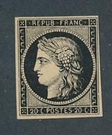 DD-111: FRANCE: Lot Avec N°3NSG - 1849-1850 Ceres