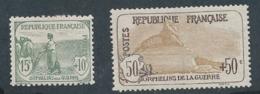 DD-112: FRANCE: Lot Avec N°150*-153*GNO (une Dent Faible) - France