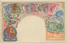 78-127 Nicaragua Stamps On Postcard - Nicaragua
