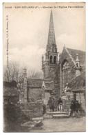 CPA 29 - LOC-MELARD (Finistère) - 6009. Clocher De L'Eglise Paroissiale. Ed. Hamonic  (petite Animation) - France