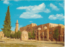 Jordan Postcard Sent From Kuwait To Canada 10-2-1970 (Haram El-Sharif Jerusalem Jordan) - Jordanie