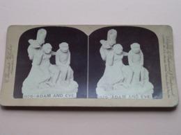 ADAM And EVE ( 1070 ) > ( Stereo Photo > Underwood / Bierstadt ) ! - Stereoscopio