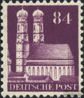 Bizonale (Allied Cast) 95 Lontano Dentato Con Fold 1948 Edifici - American/British Zone