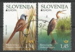 SI 2019-1375-6 EUROPA CEPT, SLOVENIA, 1 X 2v,used - 2019