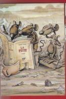 ANIMAUX - HUMOUR - SOURIS - RATS - ILLUSTRATEUR : PTILUC - 1989 -VENTS D'OUEST - N°11 - LA PESTE - ALBERT CAMUS - Otros