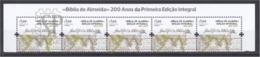 Portugal 2019 Bíblia De Almeida Bible Book Livre Religião Religion Mapa Mundo Map World - Geografía