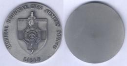 Médaille De L'Hôpital Régional Des Armées Scrive - Lille - Medical Services