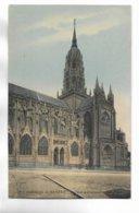 14 - Cathédrale De BAYEUX - Portail Méridionnal. Carte Colorée - Bayeux
